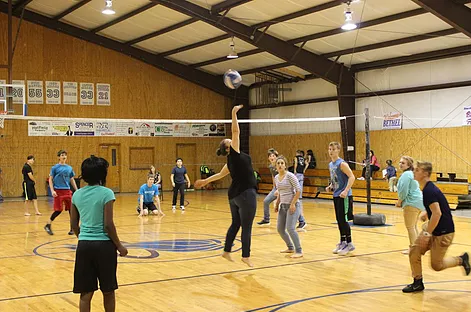 Bethel Christian Academy Intramural Volleyball